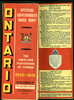 Ontario Official Highway Map 1940-41 : Ontario Official Highway Map 1940-41. Excerpts.