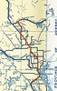 Ontario Official Highway Map 1942 : Ontario Official Highway Map 1942 excerpts. In this wartime map, Swastika, Ontario was shown as Winston.
