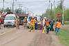 Moosonee Emergency Services Exercise 2005 May 28 : This was a mock disaster exercise involving various emergency services in Moosonee.