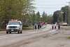 Moosonee Run for the Cure 2009 October 4 : Run for the Cure in Moosonee 2009 October 4th. The Canadian Breast Cancer Foundation CIBC Run for the Cure is Canada's largest single day, volunteer-led fundraising event dedicated to raising funds for breast cancer research, and education and awareness programs.