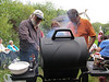Reception BBQ for Stella Koostachin : BBQ held for Stella Koostachin by her sister Celine in Moosonee 2010 August 14th.