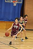Basketball Moosonee Public v. Delores D. Echum 2009 January 23rd : Moosonee Public School at home to Delores D. Echum Composite Secondary from Moose Factory on 2009 January 23rd. Girls and part of boys game. Played in gym at James Bay Education Centre.