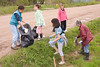 Bishop Belleau School 2008 June 6 : Bishop Belleau School 2008 June 6, trash cleanup along Ferguson Road, high jump, in class pictures, etc.
