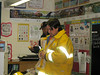 Moosonee Fire Department visits BBS Grade 2/3 : Moosonee Fire Department visits Grade 2/3 at Bishop Belleau School on 2008 October 10th