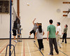 Volleyball 2009 April 16th Moosonee : Final games of Business Volleyball League at the James Bay Education Centre gym 2009 April 16th. Images reduced to 2048 pixels in larger dimension, images shot at high ISO in a dark gym so quite noisy.