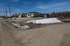 Fort Albany First Nation Office Vicinity : Pictures from vicinity of Fort Albany First Nation office and near airport.